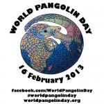 World Pangolin Day is 16 February 2013! #worldpangolinday